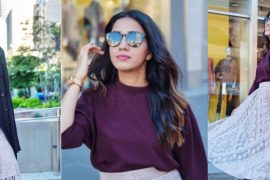 uniqlo drape mock neck blouse current obsession skirts fall wear streetstyle fall look 5