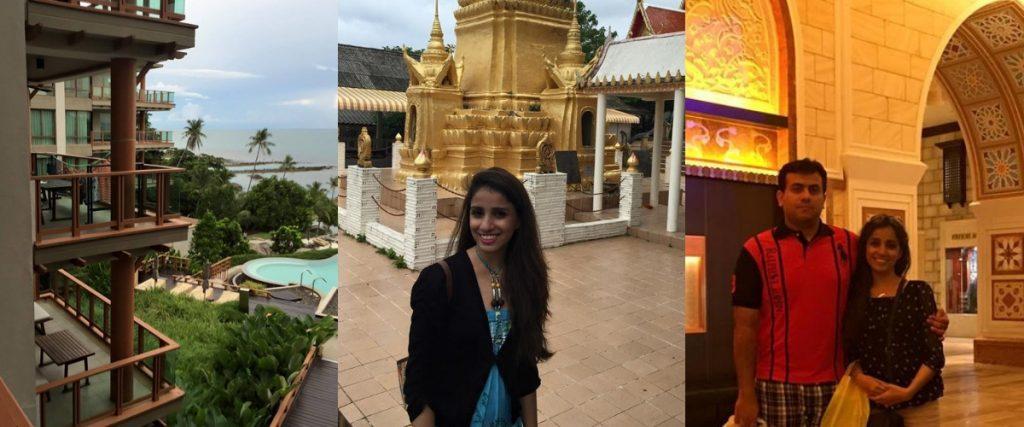 Honeymoon Dubai UAE review shangri la hotel dubai bangkok thailand Koi Samui