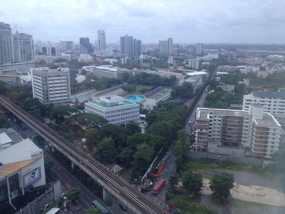 Honeymoon bangkok thailand Bangkok Marriott Hotel Sukhumvit my view 5 Honeymoon Guide