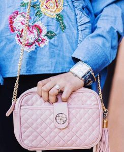 Sincerely Humble Zara Frills layers 2017 collection florals guess bag cross body