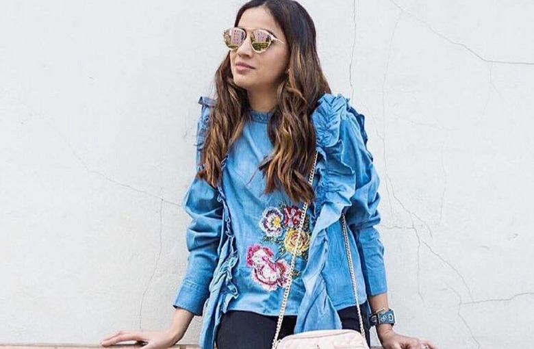 Sincerely Humble Zara Frills layers 2017 collection florals guess bag cross body 4
