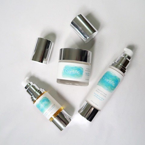 Cyantific skincare products sincerely humble