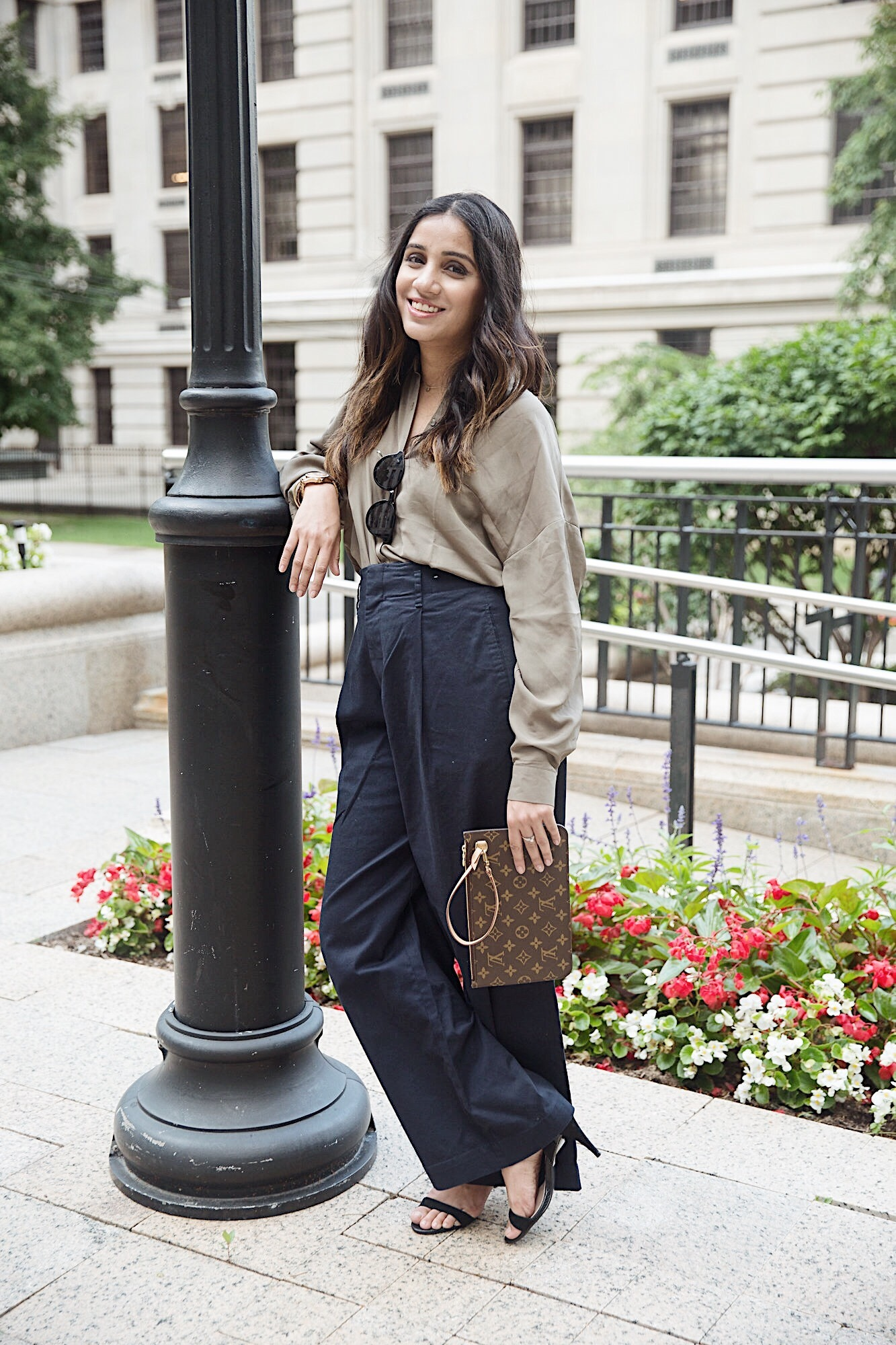 Wide pants uniqlo-louis-vuitton-ootd-fashion-streetstyle-toronto