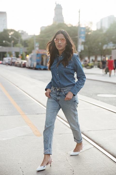 faiza inam jean tops hm jeans toronto ootd streetstyle 10