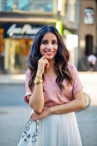 3 ways to style white skirt tulle white skirt uniqlo skirt zara white heels toronto blogger faiza inam sincerely humble 5
