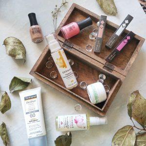 august 2018 favourites annabelle cosmetics edge lipstick orly nailpolish orly breathable dermae serum mario badescu eye cream neutrogina sunscreen dermae rose nourishing oil