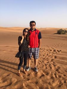 Honeymoon Dubai UAE review shangri la hotel dubai desert safari 4
