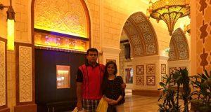 Honeymoon Dubai UAE review shangri la hotel dubai mall 3
