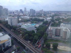 Honeymoon bangkok thailand Bangkok Marriott Hotel Sukhumvit my view 5