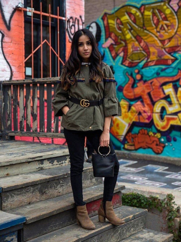 3 trendy cardigans to up your Look outfits ootd streetstyle toronto blogger faiza inam 2