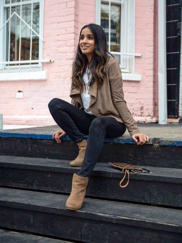 3 trendy cardigans to up your Look outfits ootd streetstyle toronto blogger faiza inam 4