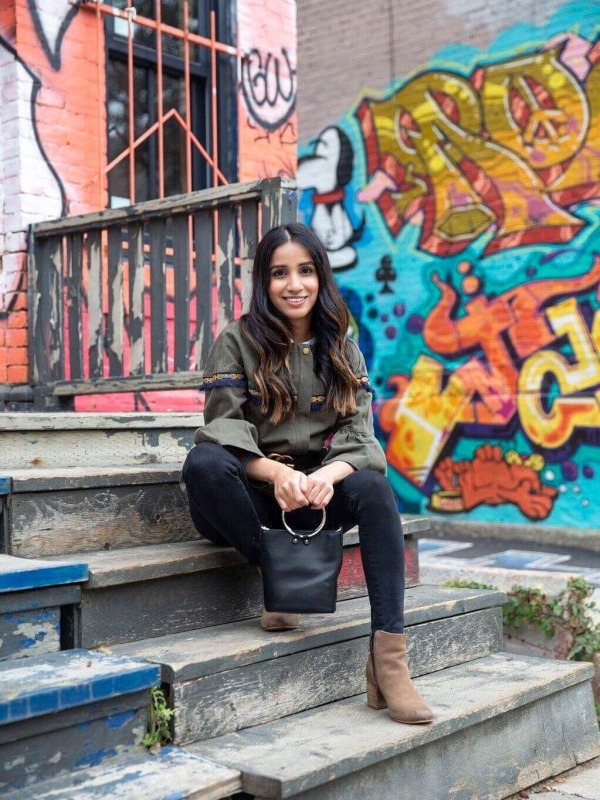 3 trendy cardigans to up your Look outfits ootd streetstyle toronto blogger faiza inam1