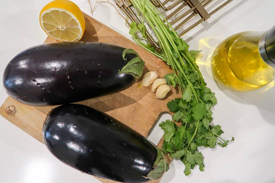 baba ghanoush eggplant Faiza Inam blog cooking healthy recipes 5