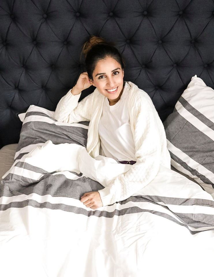 My 100 nights with Endy Mattress Faiza Inam Comfort sleep cozy 6
