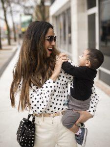 How to Style Polka Dots toronto fashion Faiza Inam vogue fad sincerelyhumble sincerely humble 3