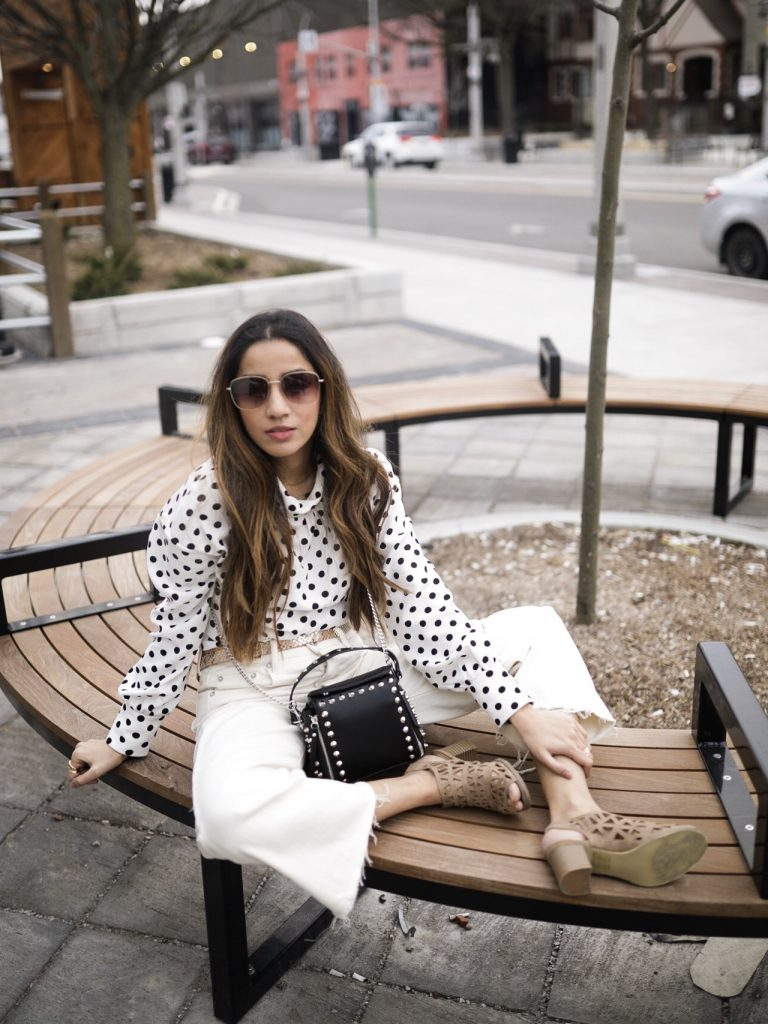 How to Style Polka Dots toronto fashion Faiza Inam vogue fad sincerelyhumble sincerely humble 2