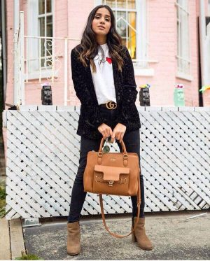 Must Have Blazers to Survive any Important Day Sincerely Humble Faiza Inam OOTD Fashion style icon Shein Blazer Converse shoes pregnancy style combining blazers runners the velvet blazer 1