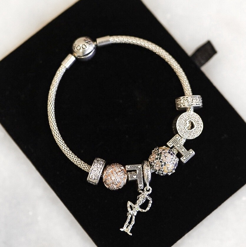 Current Pandora Charms Jewelry Edition Faiza Inam Sincerely Humble Love Knot Disney Charm 6