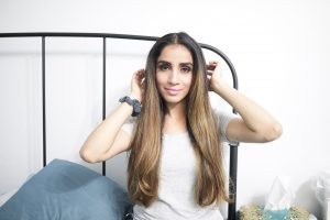 HOW TO Blow Dry Curly Frizzy Hair to Get Straight Hair sincerely humble sincerelyhumble blog Faiza Inam 4