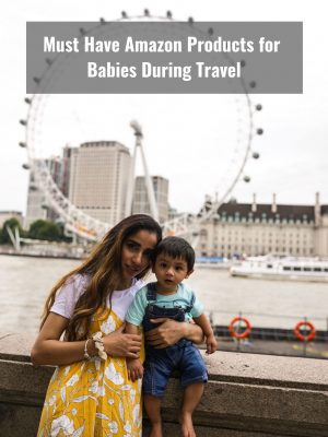 Must Have Amazon Products for Babies During Travel 3