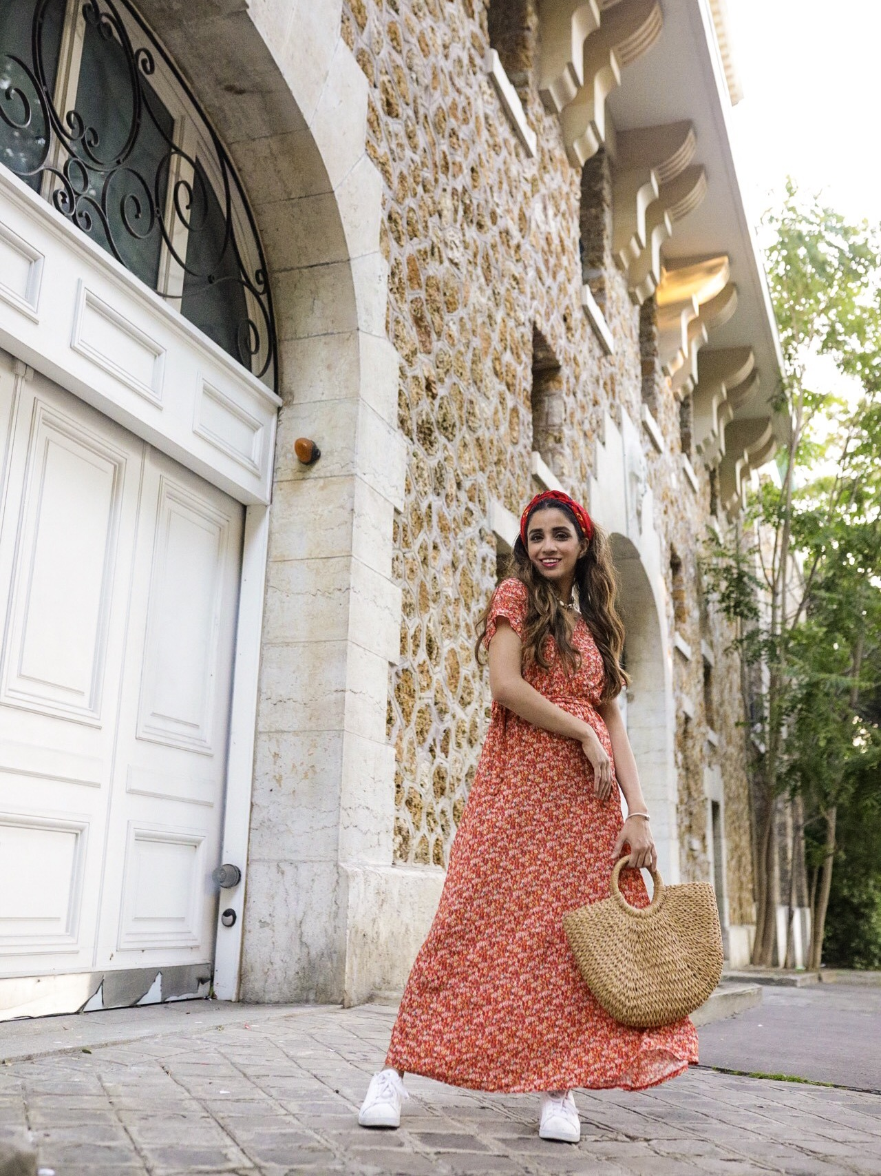 Summer Dress 2019 Roundups Part 1 Faiza Inam Sincerelyhumble maxi dresses Bouquet crossover dress Maison Simons 1