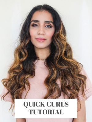 5 Minute Curls that Lasts for Days Faiza Inam How to Eid Hair Party Hair Long Hair Ideas t3 Micro 22