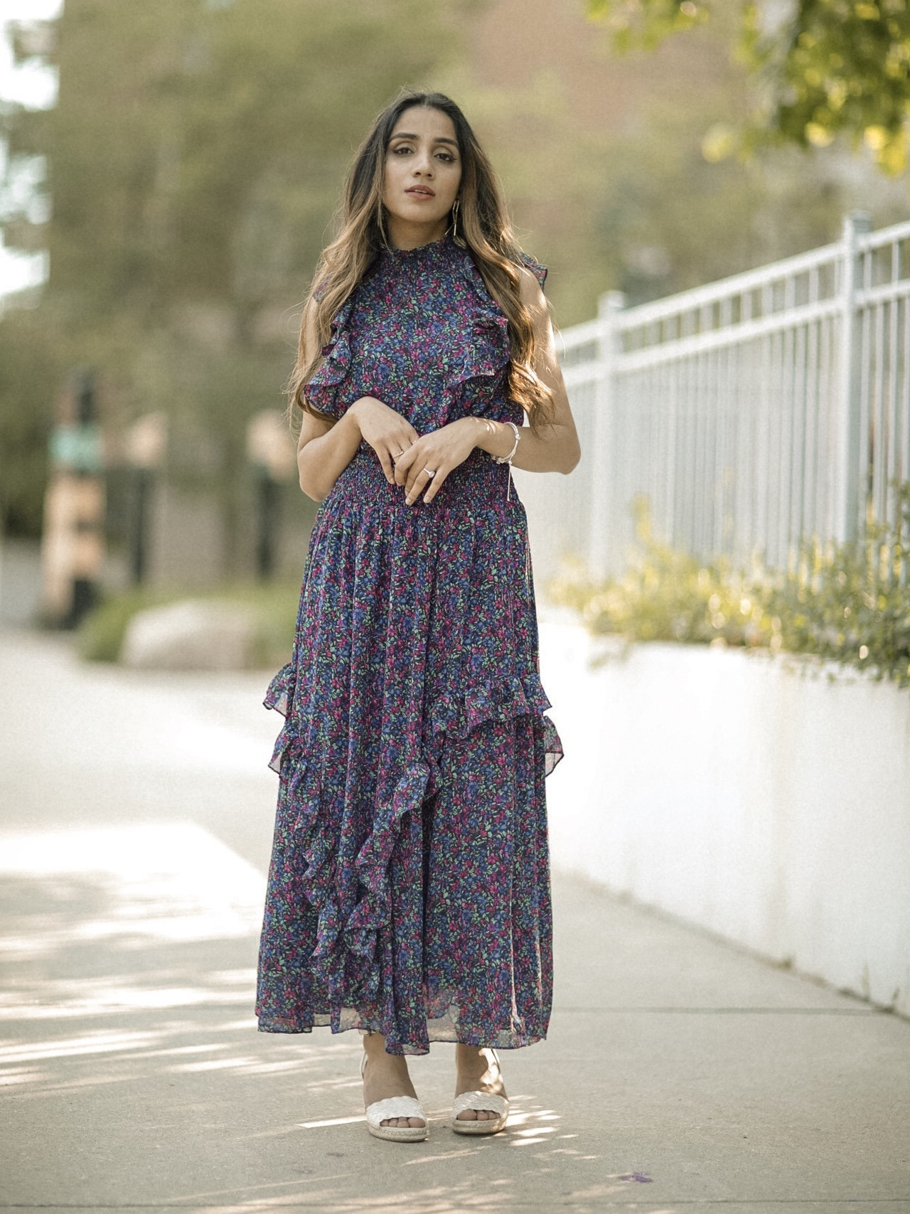 FASHION FAIZA INAM Lulus Midi Dress Maxi Dress Chic Best Summer Fashion Seasonal 7
