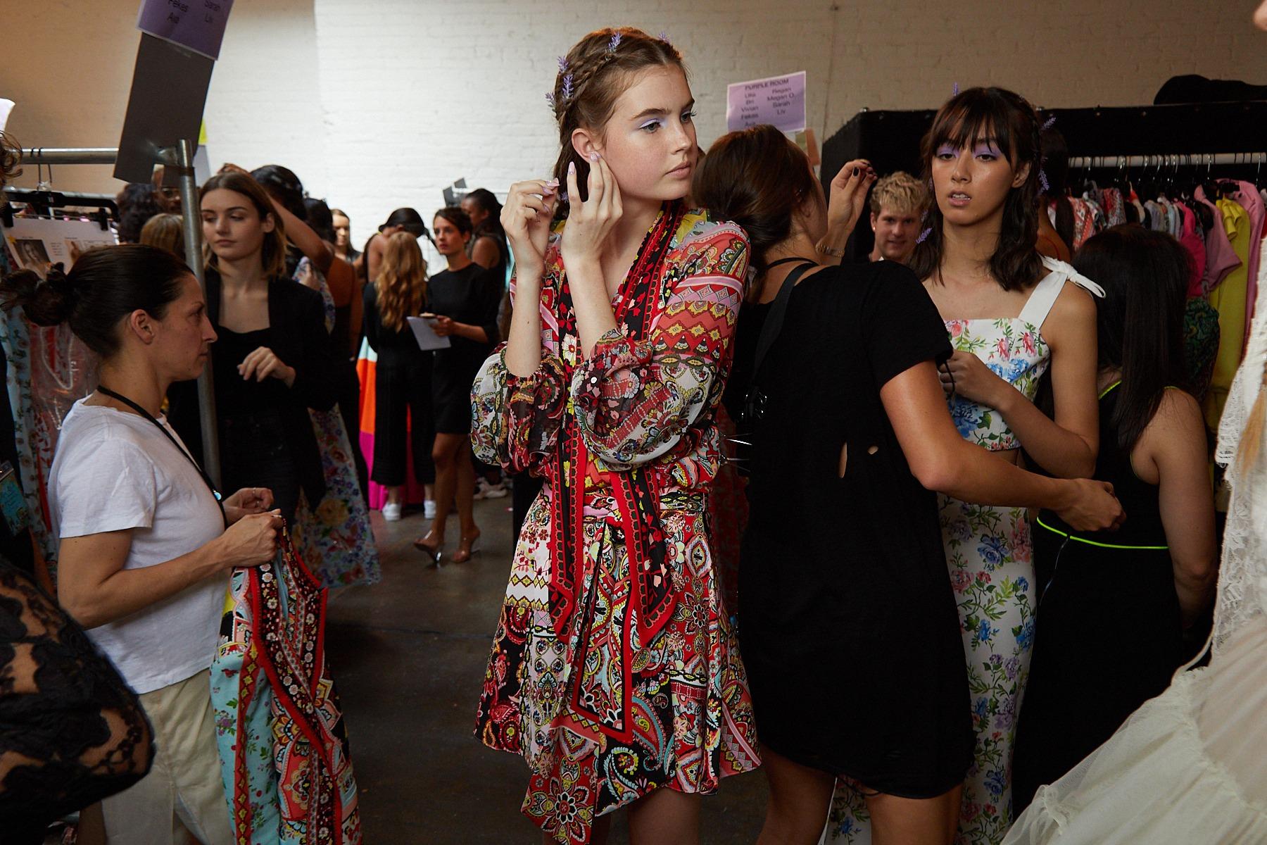 Alice Olivia Runaway Maybelline Erin Parosn Makeup Trends top takeaway Sept 2019 SS20 SincerelyHumble Blog 2