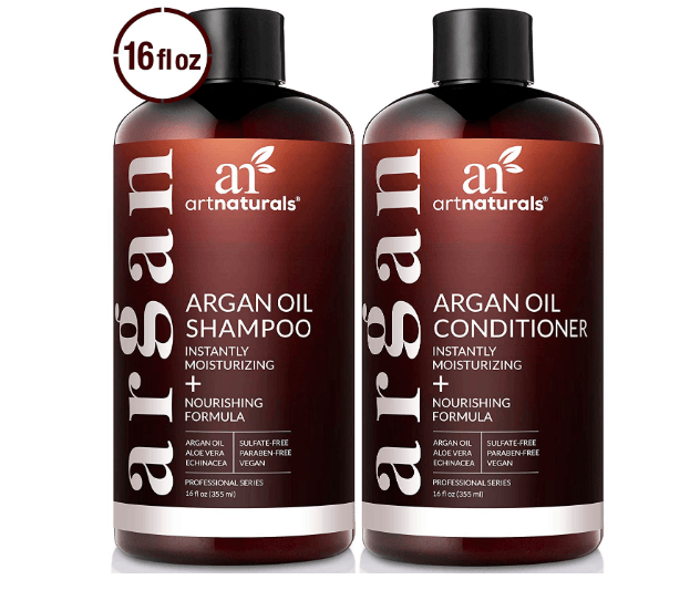 ArtNaturals Organic Moroccan Argan Oil Shampoo and Conditioner Set Amazon Finds Beauty Top Finds under $50 SincerelyHumble Blog 14