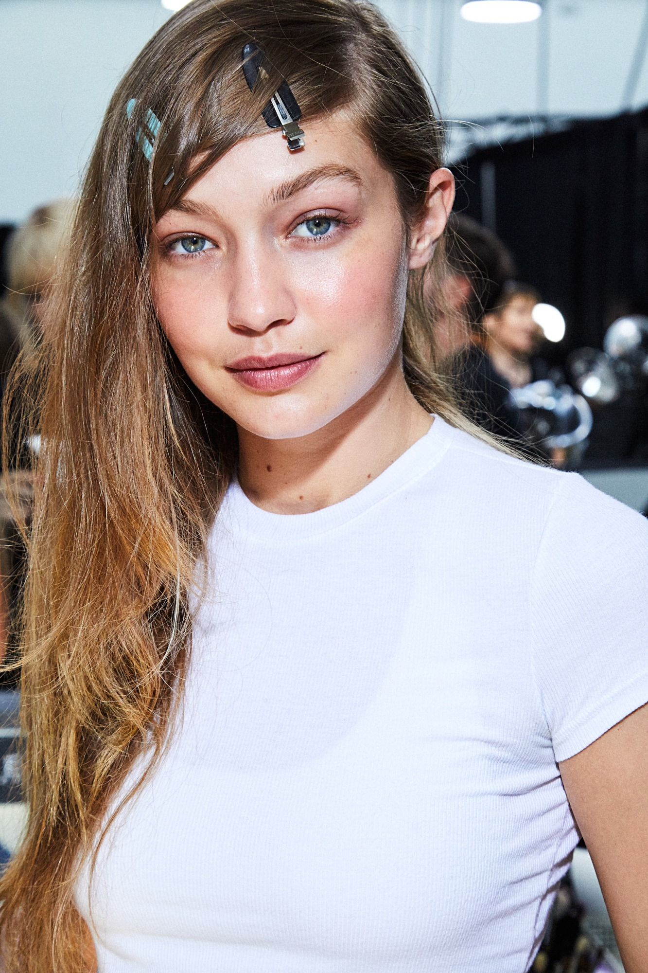 Gigi Hadid MICHAEL KORS BACKSTAGE Sept 2019 SS20 Maybelline Looks Blush Soft SincerelyHumble Blog 1