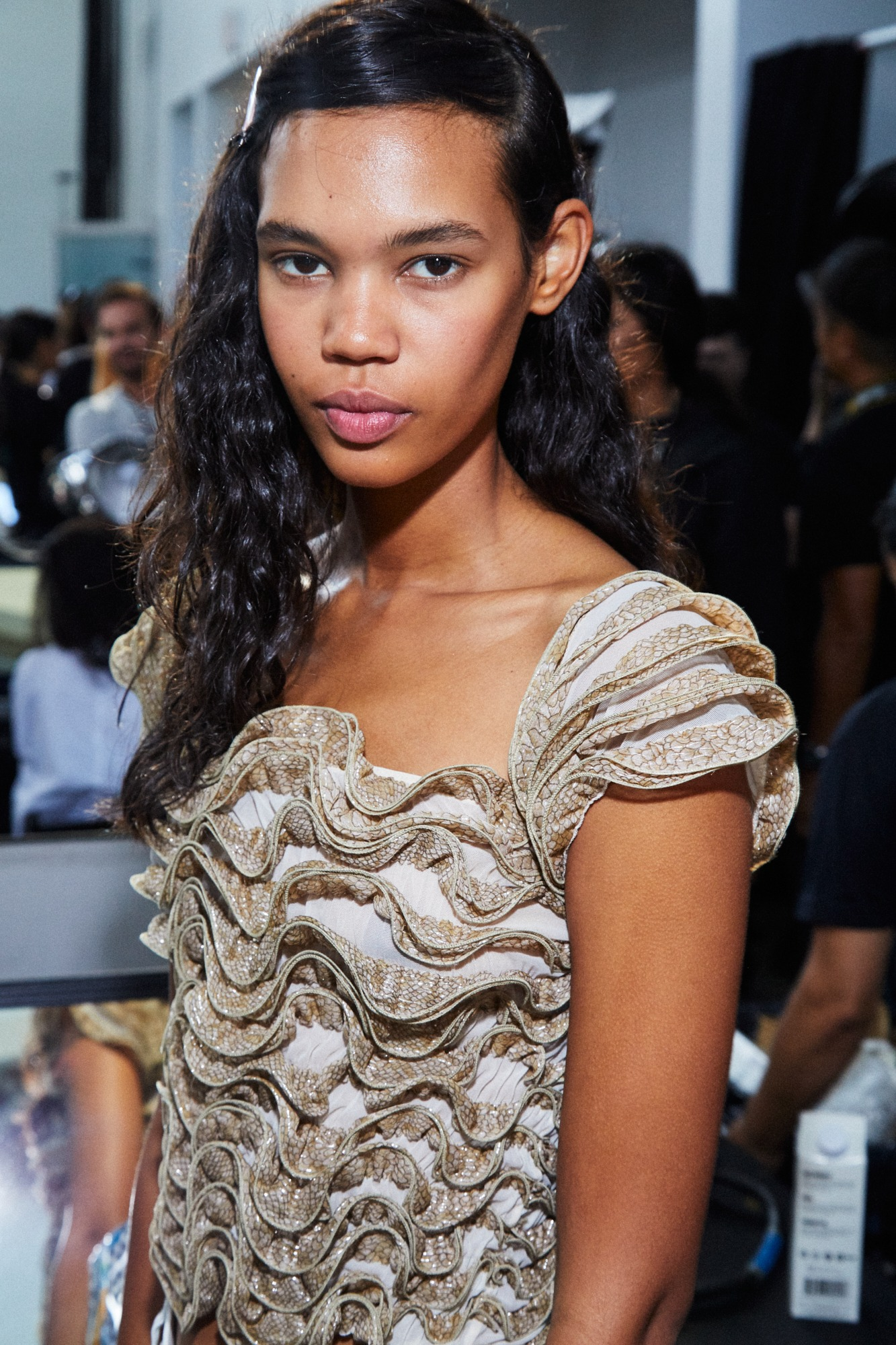 MICHAEL KORS BACKSTAGE Sept 2019 SS20 Maybelline Looks Blush Soft SincerelyHumble Blog 3