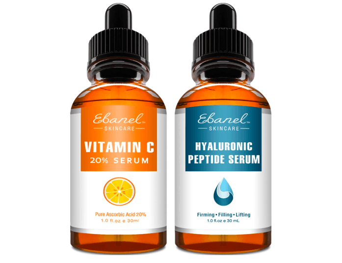 Vitamin C Serum Hyaluronic Acid Serum for Face and Eyes Amazon Finds Beauty Top Finds under $50 SincerelyHumble Blog 2