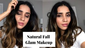 Natural Fall Glam Makeup Tutorial 2019 Faiza Inam SincerelyHumble blog Hair care beauty How to 1