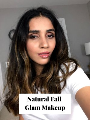 Natural Fall Glam Makeup Tutorial 2019 Faiza Inam SincerelyHumble blog Hair care beauty How to 4