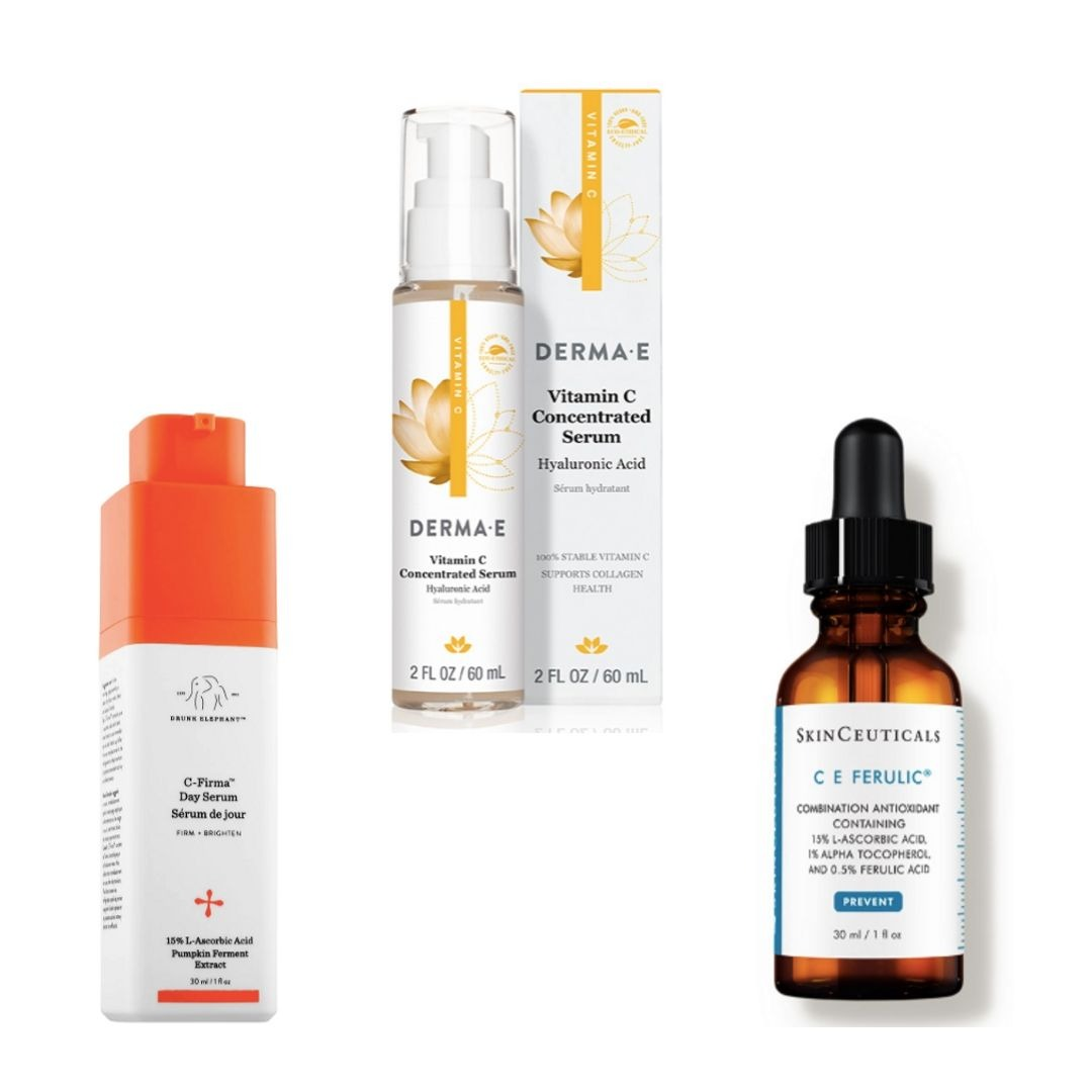 The Vitamin C Serums Everyone's Raving About Drunk Elephant C Firma Vitamin C Day Serum 2019 SincerelyHumble Blog Sincerely Humble SkinCeuticals C E Ferulic Derma E Vitamin C Concentrated