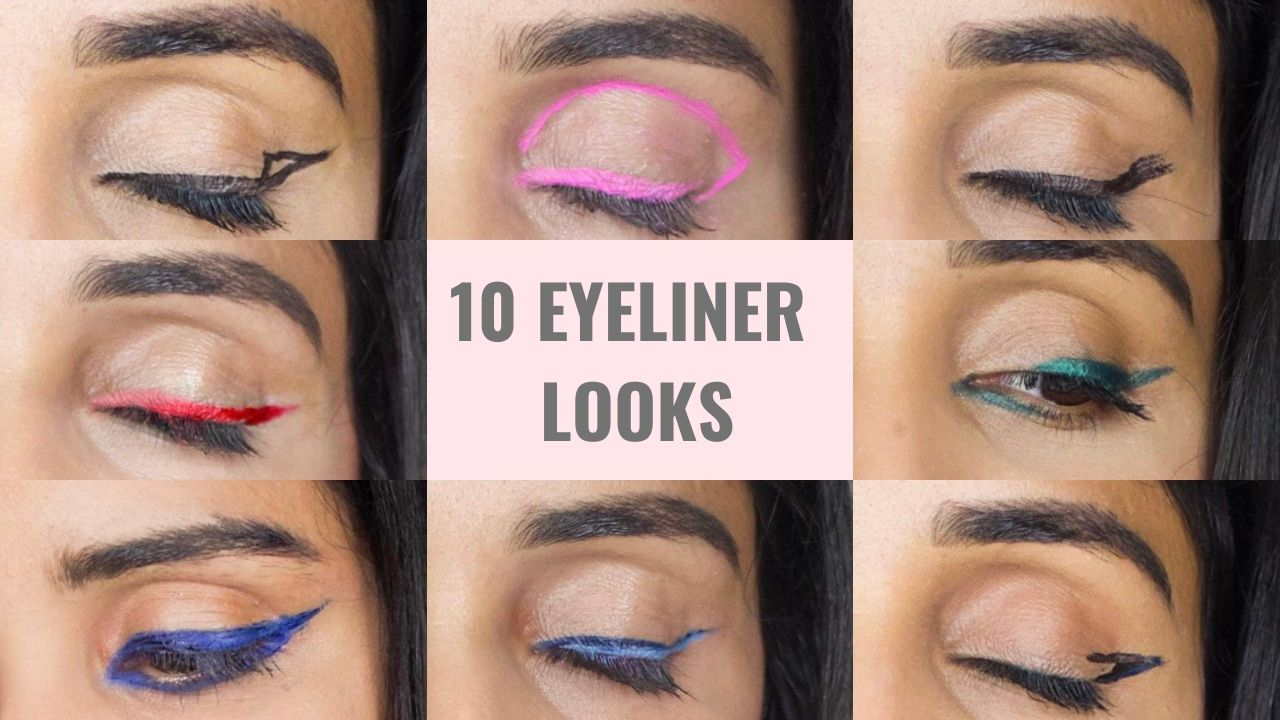 Graphic Colored Coloured Eyeliner Looks Fashion Week Inspired New York NYFW How to