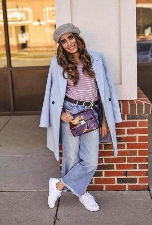 How to Style Sweater to Look More this Season Skirt Coats Boots Long Ankle Sneakers Faiza Inam Sincerelyhumble Blog 4