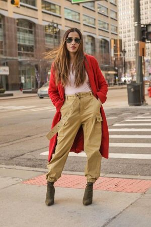 How to Style Sweater to Look More this Season Skirt Coats Boots Long Ankle Sneakers Faiza Inam Sincerelyhumble Blog 5