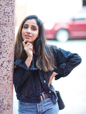 My Jean on Jean Love Lulus Ambassador Faiza Inam Fall Look 2019 Fashion Forward fashionable clothes trending 5