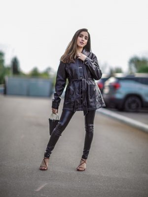 Trending Leather Pieces this Fall 2019 Top Pants Leggins Jackets Dresses trending Faiza Inam SincerelyHumble Blog 1