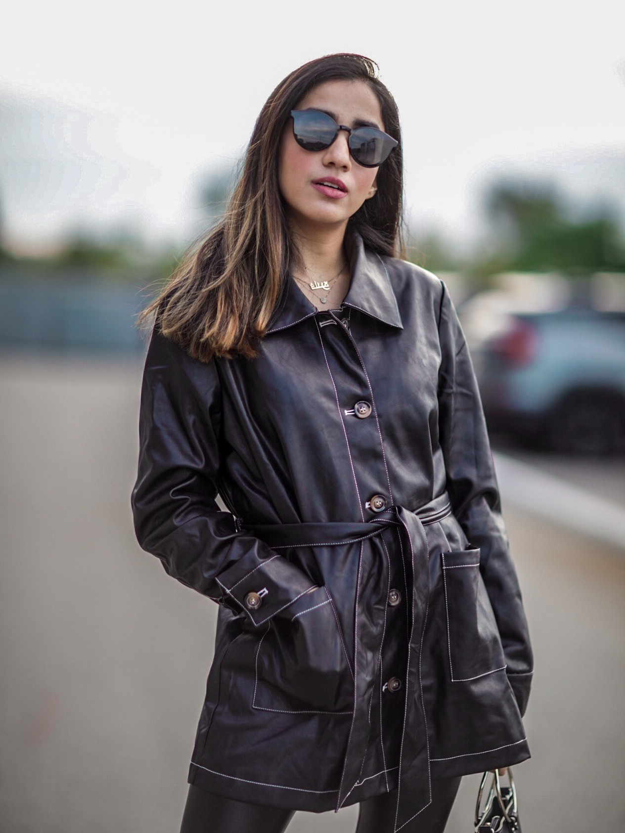 Trending Leather Pieces this Fall 2019 Top Pants Leggins Jackets Dresses trending Faiza Inam SincerelyHumble Blog 3