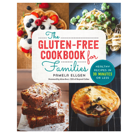 The Gluten Free Cookbook for Families Healthy Recipes in 30 Minutes for her 2019 holiday gift guide 2019 Amazon