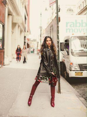 My Fashion Week Looks are Here! | NYFW Fall-Winter 2020 faiza inam fashion style my new york fashion week day 2