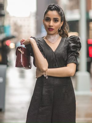 My Fashion Week Looks are Here! | NYFW Fall-Winter 2020 faiza inam fashion style my new york fashion week day 4 part 2