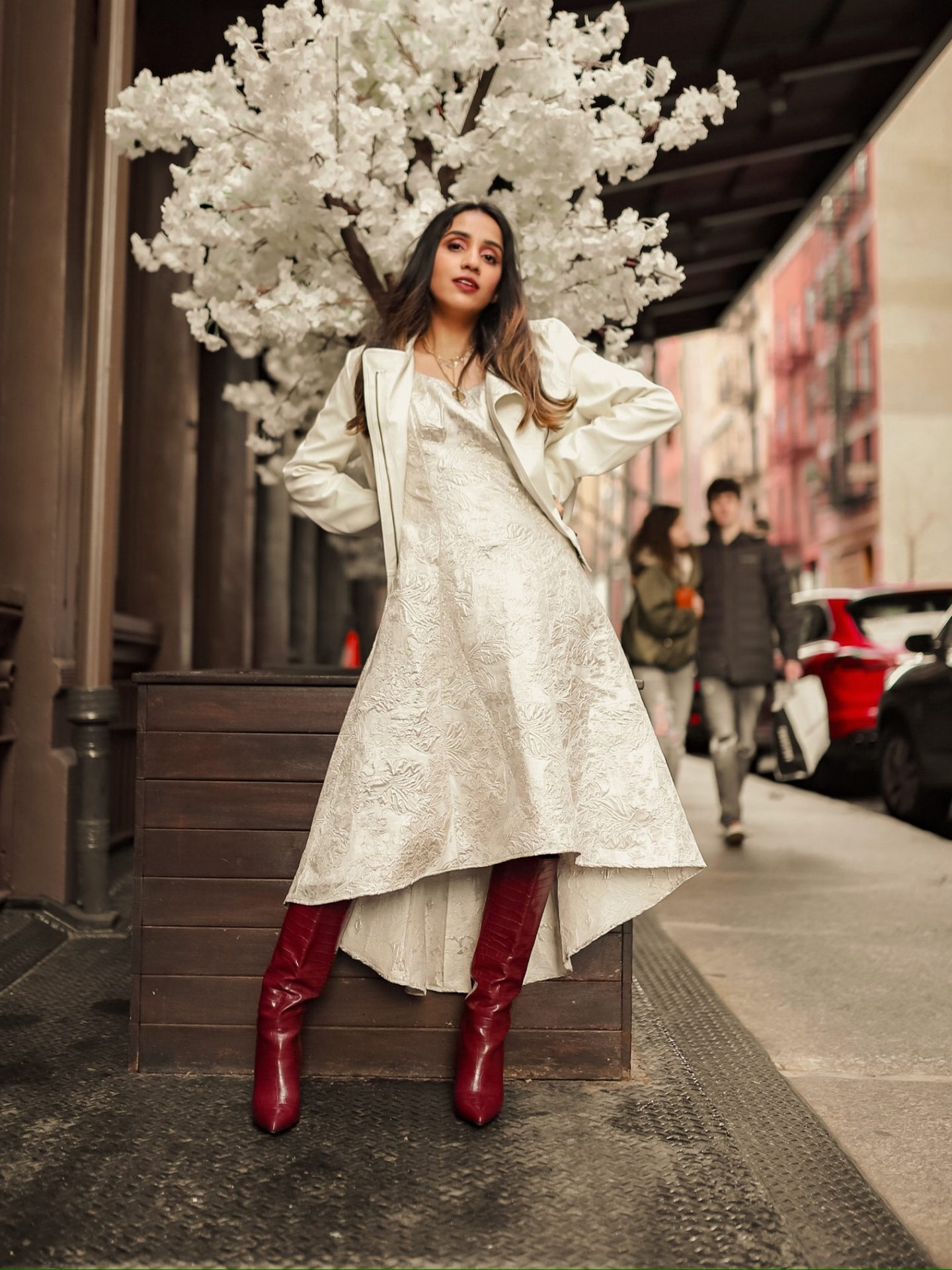 My Fashion Week Looks are Here! | NYFW Fall-Winter 2020 faiza inam fashion style my new york fashion week day look 2 second