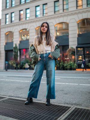 My Fashion Week Looks are Here! _ NYFW Fall-Winter 2020 faiza inam fashion style my new york fashion day 2(2)