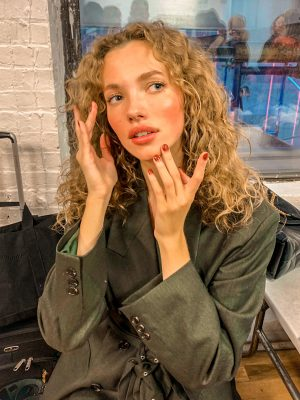 Rita Remark Essie NYFW 20 fall winter nail trends artist new york fashion week 2 veronica beard 8