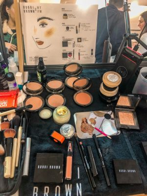 bobbi brown nyfw fall winter 2020 veronica beard backstage 1 (1)
