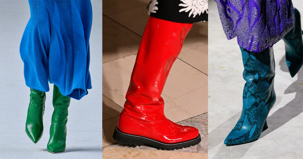 Boots in colour fall fashin 2020 trending styling Sincerely humble blog