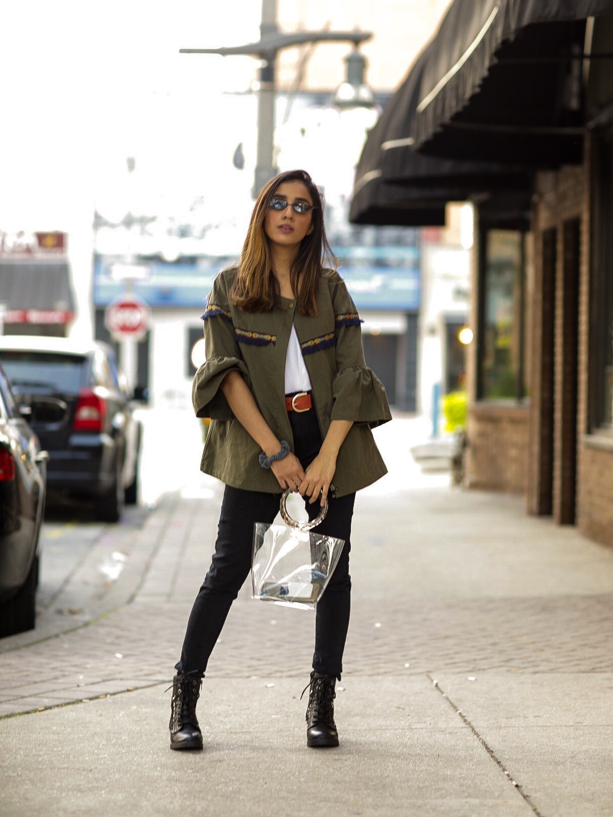 5 Fall Trends to Try Out Under $100 faiza inam pants sincerely humble blog combat boots fall look 2